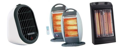 Construction working electric heaters